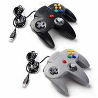 USB Wired N64 Controller Gamepad Joystick For PC & Mac & Raspberry Pi & Linux