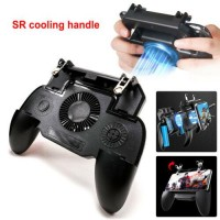 US Smart Phone Game Controller Joystick Gamepad + Cooling Fan for iOS/ Android