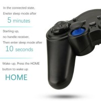 2x 2.4G Wireless Gamepad Android Controller Joystick For Raspberry PC TV Phone