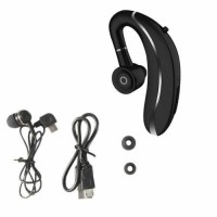 Great Bluetooth 5.0 Earpiece Driving Car Headset Earbuds Noise Cancelling new