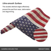US National Flag Extend Large Flag Gaming Mouse Pad Non-Slip Keyboard Mat