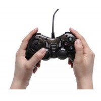 Wired USB Controller Gamepad For PC Computer Windows With Vibration 1.4m Cable