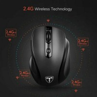 VicTsing 2.4GHz Wireless Gaming Mouse Cordless Optical Mice USB For PC Laptop US