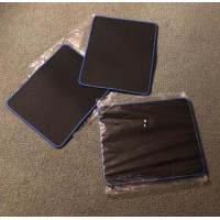 2-Pack Black Mouse Pad