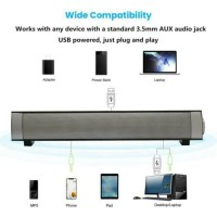 New Wireless Speaker Stereo Sound Bar With Mic For Computer Laptop Smartphone TV