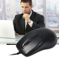 Ergonomic Design Wired Optical Mouse Mice For Laptop Desktop PC Office And Game