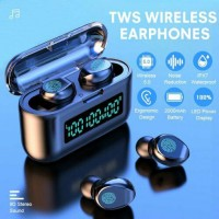 TWS Wireless Earbuds Bluetooth 5.0 Headphone 9D Stereo Earphone Noise Cancelling