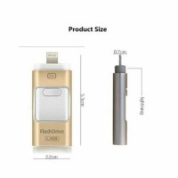 32GB i Flash Drive USB Memory Stick U Disk 3 in 1 for Android IOS iPhone PC