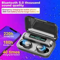 Bluetooth Earbuds FOR IOS Samsung Android Wireless Earphone IPX7 Waterproof HiFi