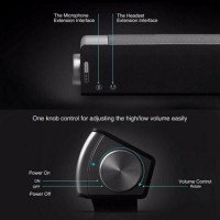 Wireless Bluetooth Speaker TV SoundBar TF Card Home Theater AUX With Remote