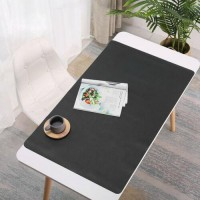 600X350MM Large Mouse Pad PU Leather Waterproof Gaming Mouse Pad Keyboard Pad