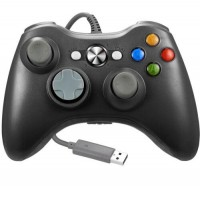 For XBOX 360 USB Wired Remote Game Controller Joystick For PC Windows 10 / 8/ 7