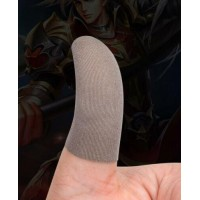 6Pcs Mobile Game Sweat-Proof Fingers Gloves Touch Screen Thumbs Finger Sleeve US