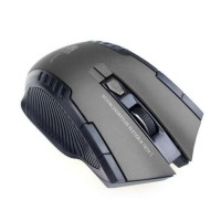 2.4Ghz New Mini Gray portable Wireless Optical Gaming Mouse For PC Laptop