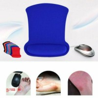 Cozy Wrist Support Rest Support Mouse Pad Wrist Rest Mat For Gaming PC Laptop