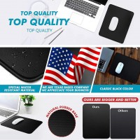 Non-Slip Mouse Pad Stitched Edge PC Laptop Fr Computer PC Gaming Rubber Base New