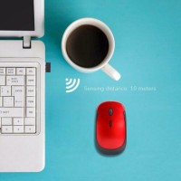 2.4GHz Wireless Optical 4 Button Mouse with USB Receiver Mice for Gaming Laptop