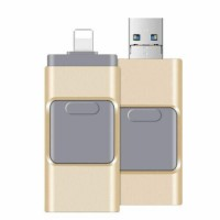 3 in 1 256/512GB USB Flash Drive Photo Memory Stick Expansion OTG For iPhone 8 X