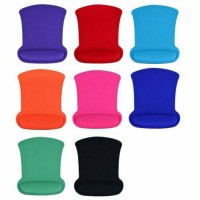 Solid Sponge Wrist Rest Support Mousepad Mice Mat PC Computer Gaming Mice Mat