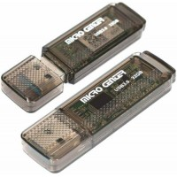 Micro Center SuperSpeed 2 Pack 32GB USB 3 0 Flash Drive Gum Size Memory Stick
