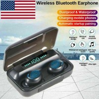 Bluetooth Earbuds for Iphone Android Wireless Earphone IPX7 WaterProof US Stock