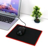 Gaming Mouse Pad 25x21cm Lock Edge Rubber Speed Mouse Mat for PC Laptop