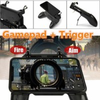 W10 Gaming Joystick Handle Controller Shooter Mobile Phone For PUBG Fortnite