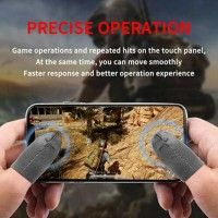 6x PUBG Mobile Game Controller Finger Covers Anti-Sweat Gaming Thumb Gloves S1