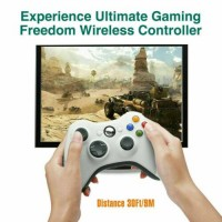 For XBOX 360 PC Windows 7/8/10 Game Controller Wired/Wireless Dual Shock JoyPad