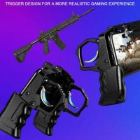 """Game Controller Mobile Phone Handle Grip Shooter Trigger Fire Button up to 6.5"""""""