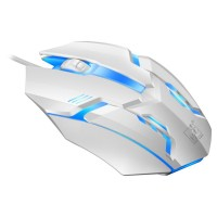 Adjustable USB Wired Keyboard Mouse LED Rainbow Color Backlight Gamer Gaming