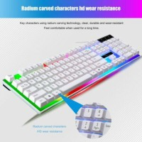 Mouse Set Gamer Gaming Mouse and Keyboard Kit Wired 1000dpi For Home Office US