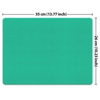 Solid Color X-Large Rectangle Mousepad Non-Slip Gaming for Laptop Computer Desk