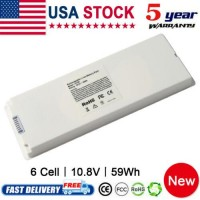 """A1185 Battery for Apple MacBook 13"""" A1181 MA254* 2006-2009 (59Wh 10.8V) Notebook"""