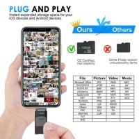 256G OTG USB iFlash Drive Pendrive U Disk For Android iPhone 6 7 8 X XR iPad #US