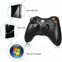 For XBOX 360 PC Windows 7/8/10 Game Controller Wired Dual Shock JoyPad Gamepad