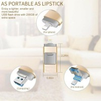 64GB-512GB For iOS/Android/PC USB Flash Drive Photo Storage Memory Stick adapter