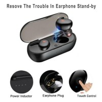 2xBluetooth Earbuds for iPhone Samsung Android Wireless Earphone IPX7 WaterProof