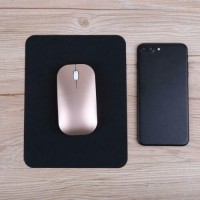 Silicone Anti-Slip Mouse Pad Waterproof Home Office Table Mat(Black)