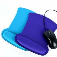 Mouse Pad Silicone Soft Wrist Rest Support Mat for Gaming PC Laptop Computer