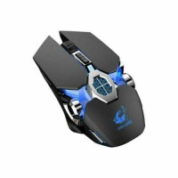 X13 Wireless Game Mouse Mute Liquid-cooled Shining Mechanical Mice For Laptop PC