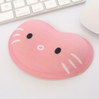 Cartoon Cat Silicone Wrist Rest Mouse Pad Desktop PC Hand Support Cushion  S1