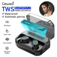 Bluetooth Earbuds Wireless Earphone for iphone Samsung Android IPX7 Waterproof