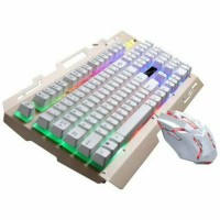 Gaming Keyboard Mouse Combo Backlight for PS4, PS3 Xbox One and Xbox 360 Rainbow