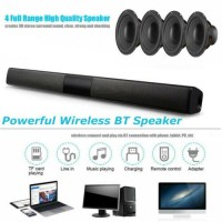 Powerful TV Sound Bar Home Theater Soundbar System Subwoofer Coaxial Optical US