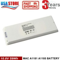 """Rechargeable Battery For Apple MacBook 13""""inch A1181 A1185 MA561 MA566 WHITE CG"""