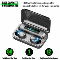 Bluetooth Earbuds for IOS Samsung Android Wireless Earphone IPX7 WaterProof New