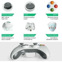 Wireless/ Wired Game Controller Joystick for Microsoft Xbox 360 PC Win XP 7 8 10