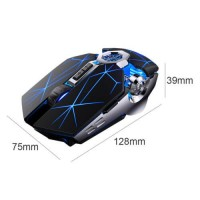 Wireless Gaming Wired Mouse USB RGB Flowing Backlit Light PC Laptop Computer